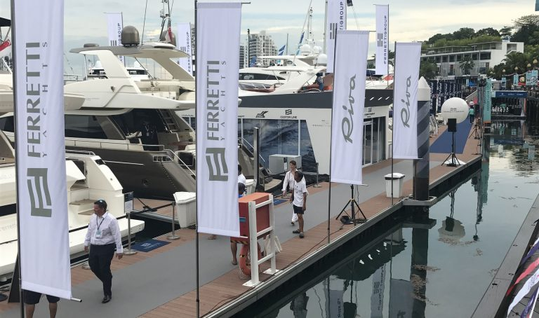 Ferretti Group Stand - Singapore