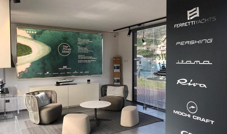 Ferretti Group Corporate Stand