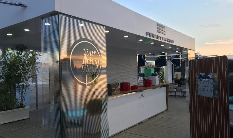 Ferretti Group Stand - Cannes